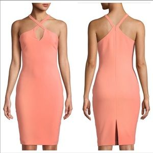 Revolve LIKELY Charles Dress in Apricot Peach 4